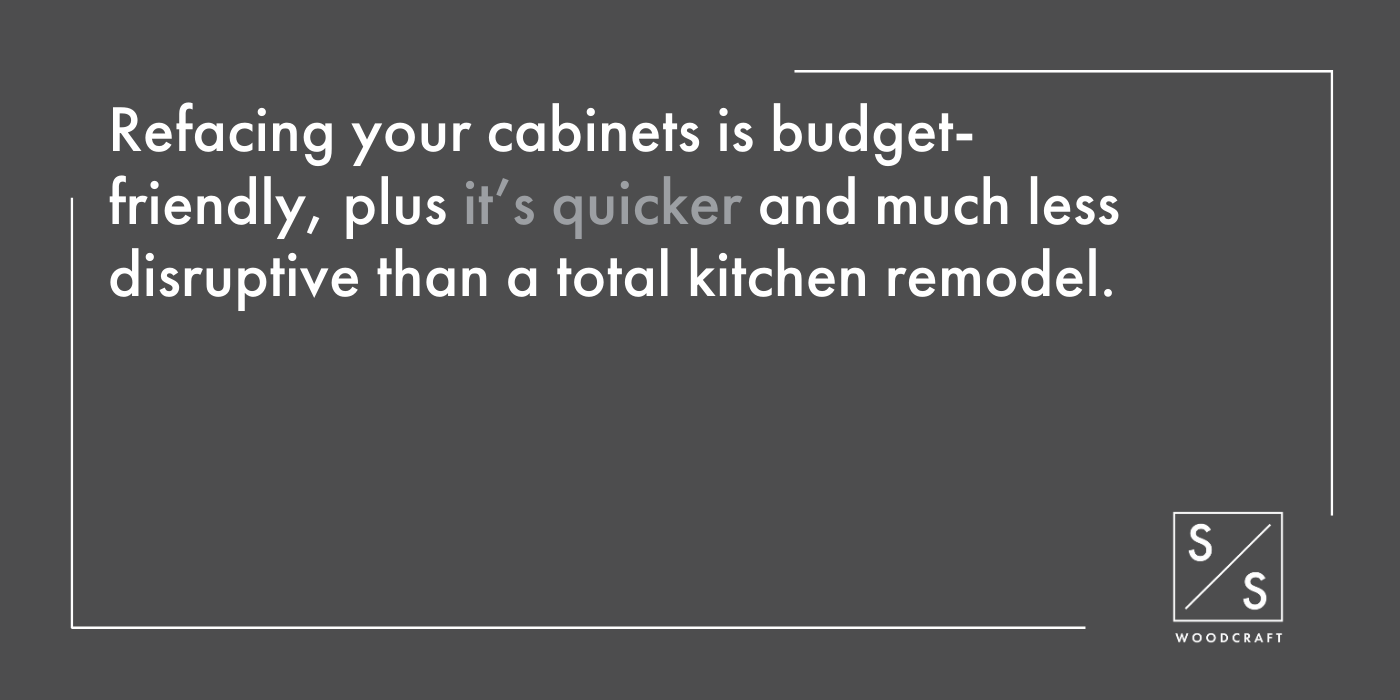 Cabinet Refacing A Quick, Easy Way to Refresh Your Kitchen - 1