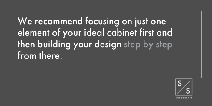 Cabinets 101 Start with a Simple Design - 1