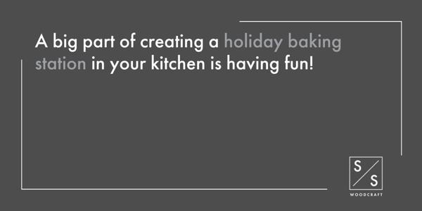 Holiday Baking Station - 4