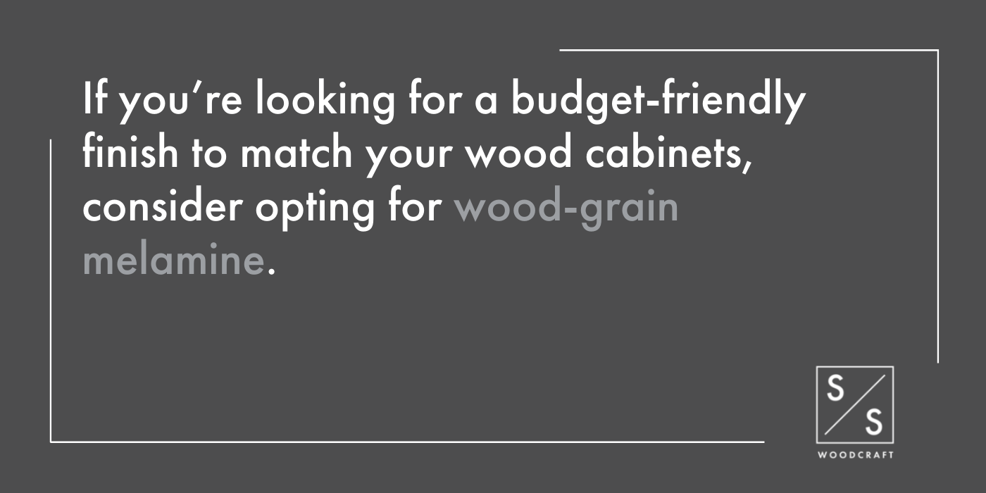 How to Choose a Finish for Your Cabinet Boxes and Shelves - 3