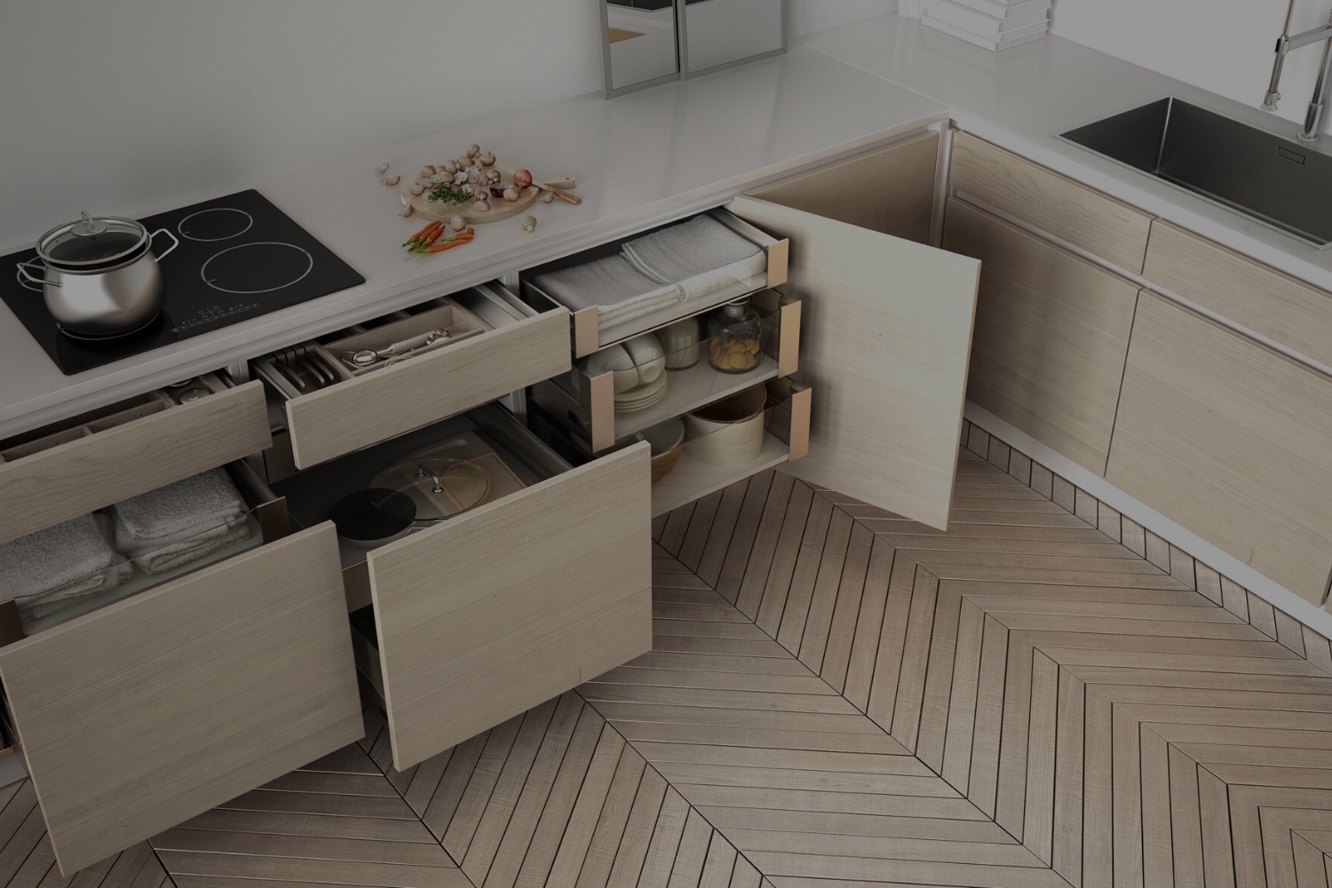 Don't Forget to Include Smart Storage in Your New Kitchen