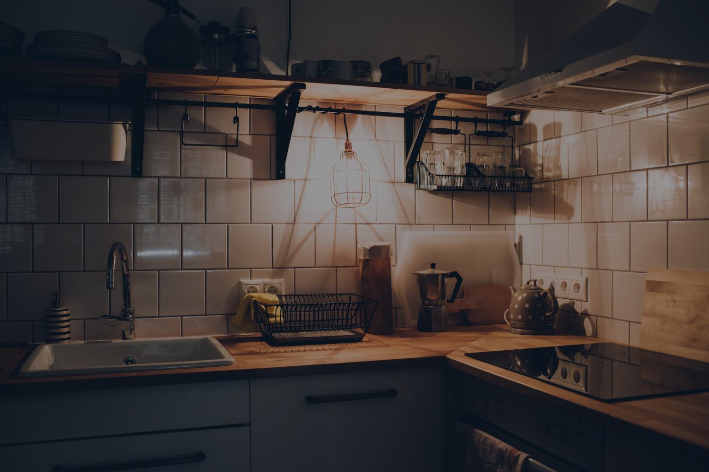 Kitchen Lighting Tricks for the Winter Months - Banner